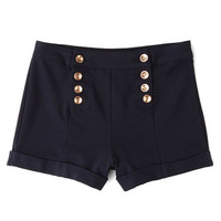 ModCloth Nautical High Waist Youb