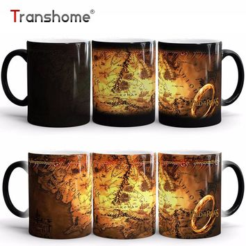 Lord of the Rings Ceramic Heat Sensitive Color Changing Mug