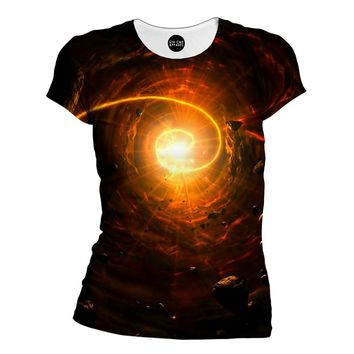 Galactic Light Womens T-Shirt