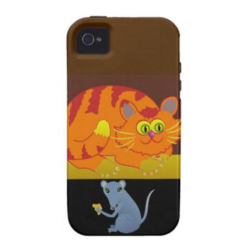 Cat & Mouse Case For The iPhone 4