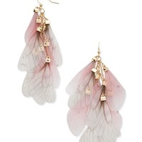 Wing Drop Earrings
