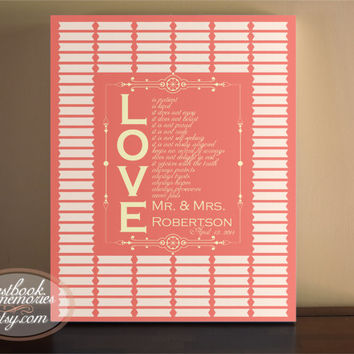 Guestbook - 100 Guests - 16x20 print - Wedding Guest Book - Guest Book Quote - Signature Lines- Guest book print - Custom Quote - Canvas