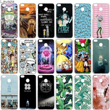 Lavaza Rick and Morty Bts Bangtan Boys Beauty And The Beast Case for Xiaomi Redmi Note 4 4x 4a mi a1 a2 8 6 se mi8 mi6 Pro