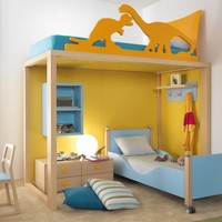 Solid wood bunk bed 9001 Boxer Collection by dearkids