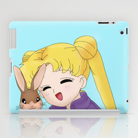 Sailor Moon and Bunny iPad Case by Impossible Girl