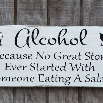 Wedding Sign Wedding Decor Alcohol Great From Soflco