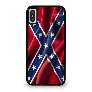 CONFEDERATE STATE FLAG iPhone 5/5S/SE 5C 6/6S 7 8 Plus X/XS Max XR Case Cover
