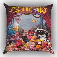 The Muppet Theater Y0092 Zippered Pillows  Covers 16x16, 18x18, 20x20 Inches