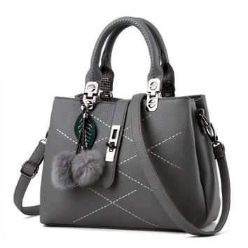 Stylish Fashion Vintage Leather PU Crossbody Shoulder Bag Hand Bag _ 3529