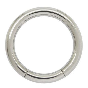 1.6mm X 10mm 316l Surgical Stainless Steel Nose Piercing Segment Hoop Ring