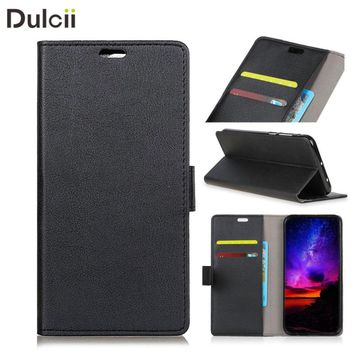 DULCII Case for Xiaomi Redmi Note 5Aprime 5A Prime Wallet Bag Magnetic PU Leather Mobile Phone Shell for Xiomi Smartphone Cover