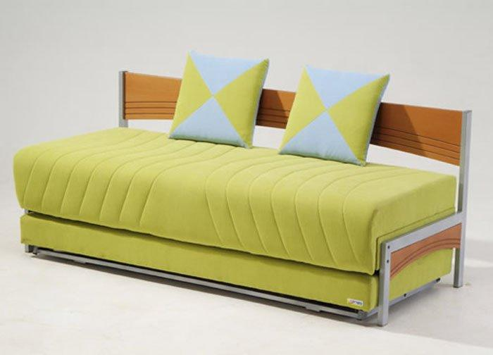 Tokio Modern Twin Size Bed Double Sofa From