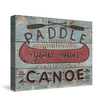 Cabin Fever II Canvas Wall Art