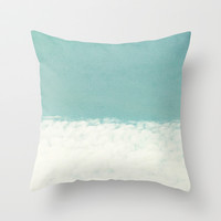 half and half Throw Pillow by Beverly LeFevre