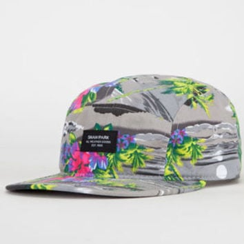 SHAW PARK Tropical Storm Mens 5 Panel Hat