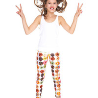 Girls Donuts Leggings
