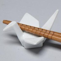 Peace Crane Chopstick Holder | Overstock.com