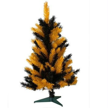 Artificial Tree - 3 Ft. - Yellow And Black