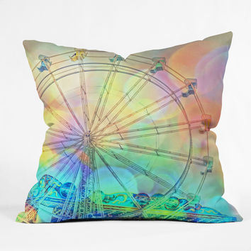Lisa Argyropoulos The Dream Weaver Outdoor Throw Pillow
