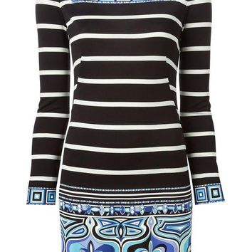 VONEG8Q Emilio Pucci patterned mini dress