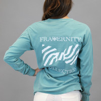 Fraternity Collection: Seafoam Screen Print