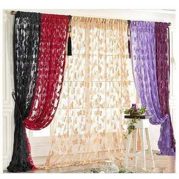 New Fringe Door Window Panel Room Divider Butterfly String Curtain CuteString Curtain Dropshipping rideaux occultants Hot