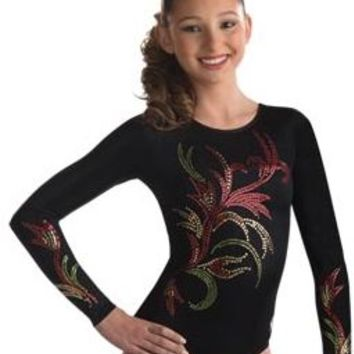 Sequinz for Sparkling Long Sleeve Gymnastics Leotards