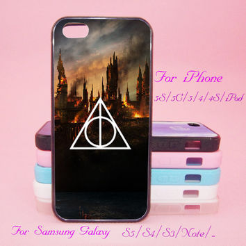 Death Hollows,Harry Potter,Touch 5,iPad 2/3/4,iPad mini,iPad Air,iPhone 5s/ 5c / 5 /4S/4 , Galaxy S3/S4/S5/S3 mini/S4 mini/S4 active/Note