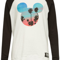 NEFF Disney Collection Scenic Mickey Girls Raglan Tee | Graphic Tees