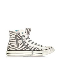 Converse Limited Edition Designer Shoes All Star High-top Animal Printed Canvas Zip Sneaker
