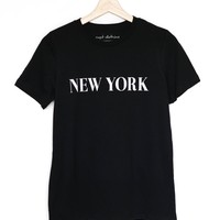 New York Relaxed Tee