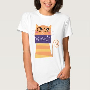 Cartoon Cat T-shirts