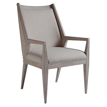 Haiku Armchair, Greige Linen - Artistica - Brands | One Kings Lane