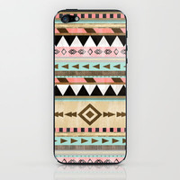 Southwestern Tribal Pattern  iPhone & iPod Skin by RebekahEDesigns
