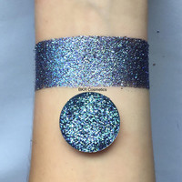 Mermaid pressed glitter eyeshadow, 26mm magnetic pan or jar, cosmetic grade glitter