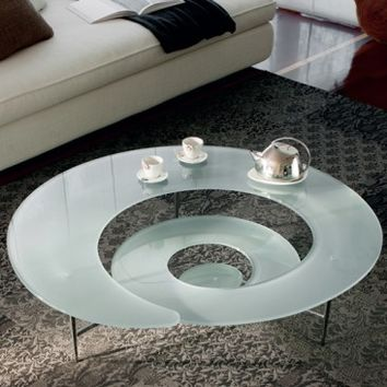 Spiral Coffee Table & Cattelan Italia Spiral Coffee Table  | YLiving