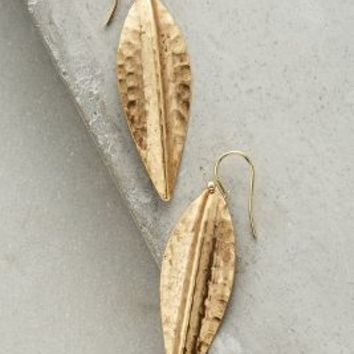 Panra Drops by Anthropologie in Gold Size: One Size Earrings