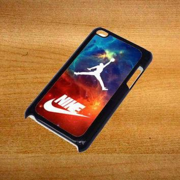 DCKL9 air jordan nike nebula For iPod Touch 4 Case *76*