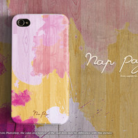 apple iphone case : colorful watercolor