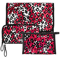 Sephora: SEPHORA COLLECTION Electric Safari Bag Collection - Pink Cheetah: Makeup & Travel Bags