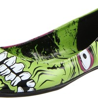 Iron Fist Women's Zombie Stomper Flat Dress Pump