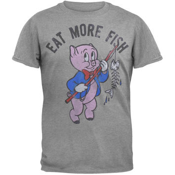 Looney Tunes - Eat More Fish Soft T-Shirt
