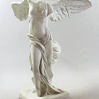 Nike of Samothrace Statue Greek Roman Winged Victory Grande 72H - 4323