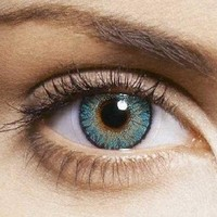 Free Shipping! Turquoise Freshlook Colorblends Non Prescription Colored Contact Lenses