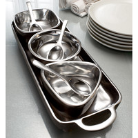 7-piece Tray and Bowl Condiment Set | Overstock.com