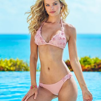Rose Lavish Lace Bikini