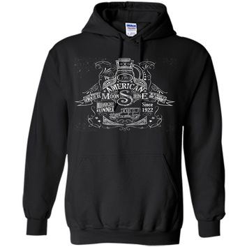 American Moonshine Vintage Whiskey Label T-Shirt