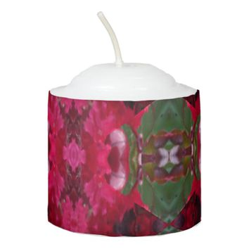 Christmas Colors Kaleidoscope Votive Candle
