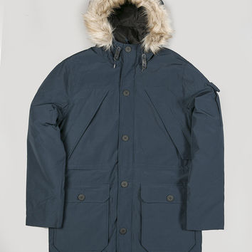 Penfield Hoosac Hooded Down Parka Navy