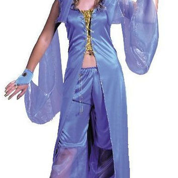 dreamy genie women's plus size costume